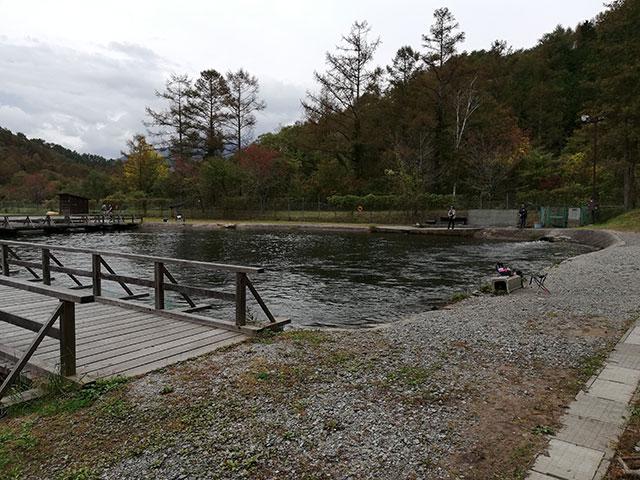 平谷湖フィッシングスポット 女性・初心者エリア