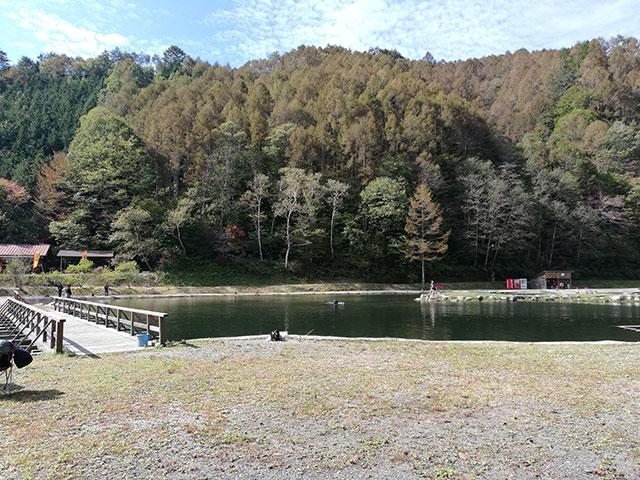平谷湖フィッシングスポット 第1エリア( 川側 )