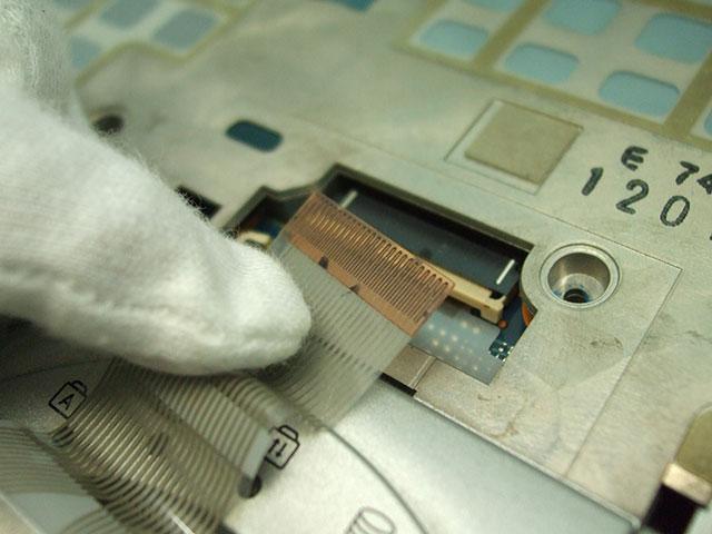 Panasonic Let's note CF-N10 キーボードのフラットケーブル