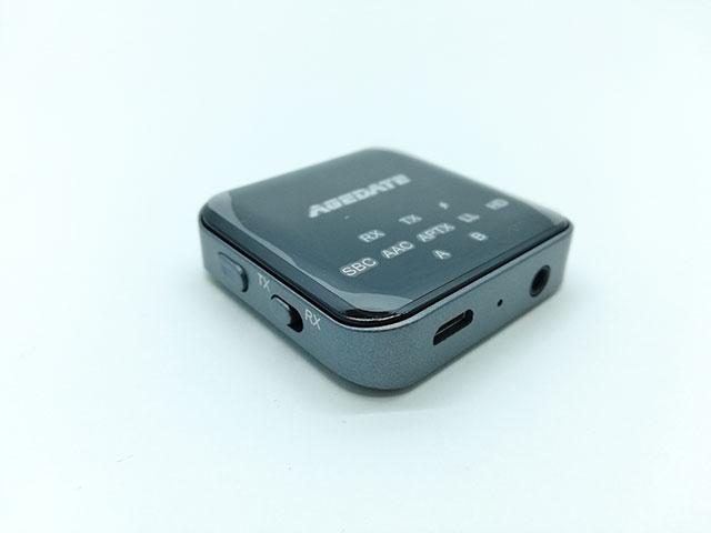 Bluetooth トランスミッター Agedate BT-B10 本体の画像