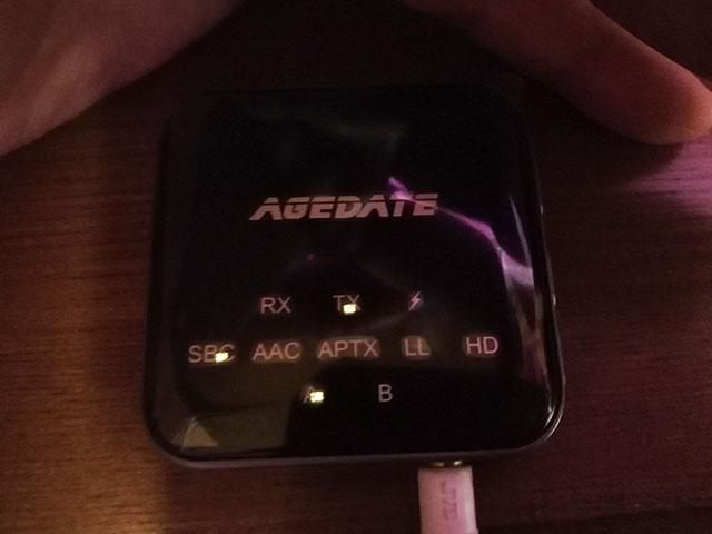 Bluetooth トランスミッター Agedate BT-B10 TX(送信)モードでの使い方 6