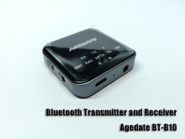 Bluetooth トランスミッター Agedate BT-B10